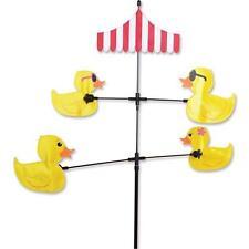 """Carousel Ducks Staked Wind Spinner 59"""" x 28"""" Dia. 28"""" Apprpx .20.Pr 21616"""