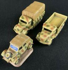 Kübelwagen x1 - Opel Maultier x2 - Transports - Germany - Flames of War - 15mm