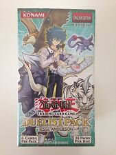 Yu-Gi-Oh Duelist Pack Jesse Anderson, 1st Ed. box (English), Factory Sealed