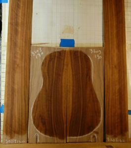 eastern black walnut tonewood guitar luthier set back and sides