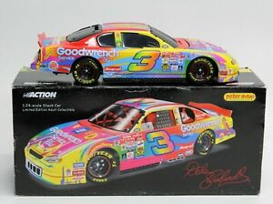Dale Earnhardt Sr 2000 #3 GM Goodwrench Service Plus Peter Max Bank 1:24 Action