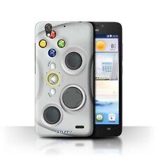 Fundas y carcasas brillantes de color principal blanco para teléfonos móviles y PDAs Huawei