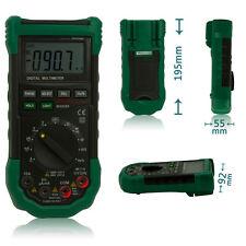 MASTECH MS8268 Digital Multimeter Capacitance AC DC Voltage Current Tester Meter