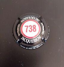 Capsule de champagne Jacquesson cuvée 738