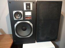 Vintage Kenwood Speakers JL-630W 3 way speaker system Tested working