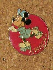 A71 VINTAGE PIN DISNEY CHARACTER MINNIE MOUSE PHILDAR RARE
