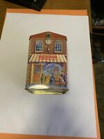 Vtg Nestle Toll House Tin Metal Bakery Shop Cannister. Great Graphics And Rare.