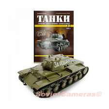 "1/43 KV-1 Model of Soviet Russian Heavy Tank 1941 WWII Deagostini ""Tanks"" #3 New"