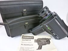 Vintage/Retro Cinerex XL 400 Macro Cine Camera with Case **FREE UK P&P**