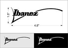 "Self-adhesive PVC film Ibanez Logo Sticker 4.8"""