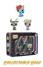 My Little Pony - Dash, Discord and Derpy Pocket Pop 3-Pack Tin