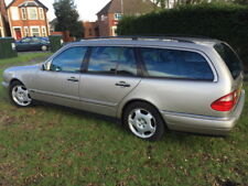 Breaking 1999 W210 Mercedes E240 Estate - Listing is for Black Leather F&R seats