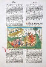 9. DEUTSCHE BIBEL BIBLIA GERMANICA INKUNABEL LEVITEN SÖHNE AARON KOBERGER 1483