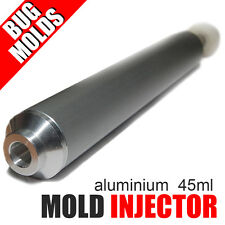Aluminium Injector Soft Lure Mold Professional Hand Injector 45ml for Plastisol