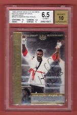 EVANDER HOLYFIELD 1996 UPPER DECK OLYMPIC USA SP AUTOGRAPH BGS 6.5 AUTO 10