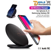 Qi Fast Wireless Charger Rapid Stand EP-PG950 for Samsung Galaxy Note 8/S8 Plus