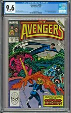 Avengers #299 CGC 9.6 White Mister Fantastic Invisible Woman New Mutants
