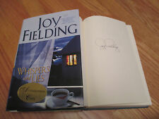 JOY FIELDING signed WHISPERS and LIES 2002 1st Edition Book COA