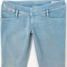 Ladies Womens Diesel MATIC 0016U Stretch Skinny Blue Jeans W32 L34 UK Size 12
