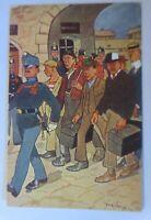 Österreich, Soldaten, Einberufung zum Militärdienst,  1909  ♥ (74226)