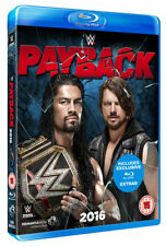 WWE: Payback 2016 Blu-Ray (2016) Enzo Amore cert 15 ***NEW*** Quality guaranteed