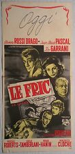 Locandina LE FRIC (LA GRANA) 1957 RARA!!!ELEONORA ROSSI DRAGO JAEN CLAUDE PASCAL