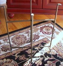 Iron Floor Stand for Oval Tubs New Black Collapsible