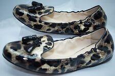 New Prada Shoes Ballerina Flats Size 39.5 Womens Calzature Donna Vernice