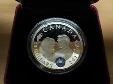 2011 Canada $20 Fine Silver Coin Royal Wedding Of William and Catherine
