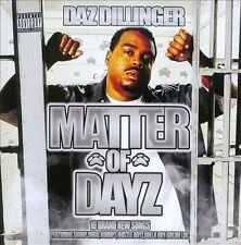 NEW Matter Of Dayz (Audio CD)