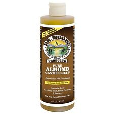 Dr. Woods Pure Almond Castile Soap 16 oz