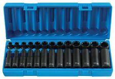 "3/8"" Drive Standard and Deep Metric Master Socket Set, 26pc GRY-1226M New!"