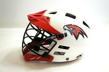 Cascade Lacrosse official helmet white and red Mll Size Medium Made in Usa