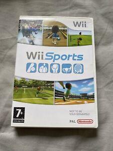 Nintendo Wii Sports Rare Case Version Good Condition
