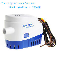 750GPH 12V Boat Automatic Marine Submersible Auto Bilge Water Pump Float Switch