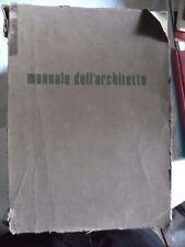 a cura del CNR MANUALE DELL'ARCHITETTO anni '70