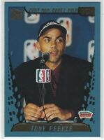 2001/02 TOPPS TONY PARKER RC #247 SAN ANTONIO SPURS