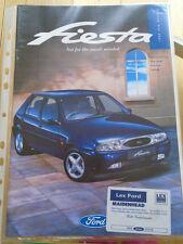 Ford Fiesta range brochure Oct 1995