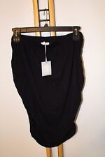 a:Glow A Glow Women's Maternity Black Skirt Size XL Large NWT NEW