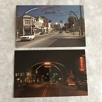 Brocton Arch Postcard NY Vintage New York Lot of 2 Post Cards