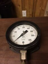 "New listing Big 5"" face 0-400 psi pressure gauge"