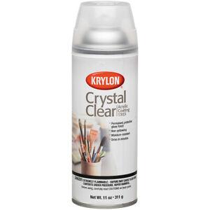Krylon-Crystal Clear Acrylic Coating Aerosol Spray 11oz-
