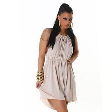Kleid Minikleid asymmetrisch Cocktailkleid Einheits-Größe 34 36 Party Club Disko