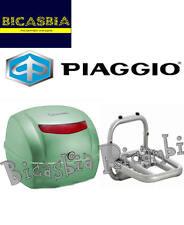 9407 - BAULETTO POSTERIORE VERDE PORTOFINO 305/A CON PIASTRA VESPA 50 125 LX