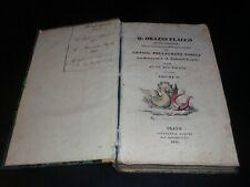 ORAZIO FLACCO – SATIRE - OPERE PURGATE - PRATO TIPOGRAFIA ALDINA 1841