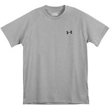 Under Armour Ua Tech T-Shirt Mens 1228539-025 Grey Training Tee Apparel Size L