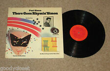 ROCK PAUL SIMON THERE GOES RHYMIN SIMON LP RECORD STERLING MASTER VG+