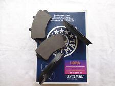 Optimal  4 plaquettes de frein avant Opel Movano bus / box / ch. cabine (LDPA44)