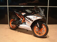1:12 KTM RC390 RC 390 SUPER SPORT MODEL SUPERB DETAIL BSB REP ORANGE WHITE
