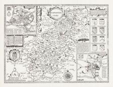 Antique Original 1600-1699 Date Range Antique Europe County Maps